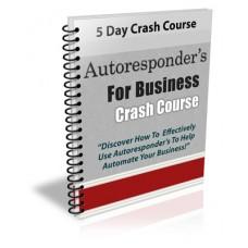 Autoresponders For Business Crash Course With PLR