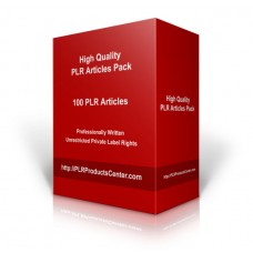100 Article Marketing PLR Articles Pack Vol. 1